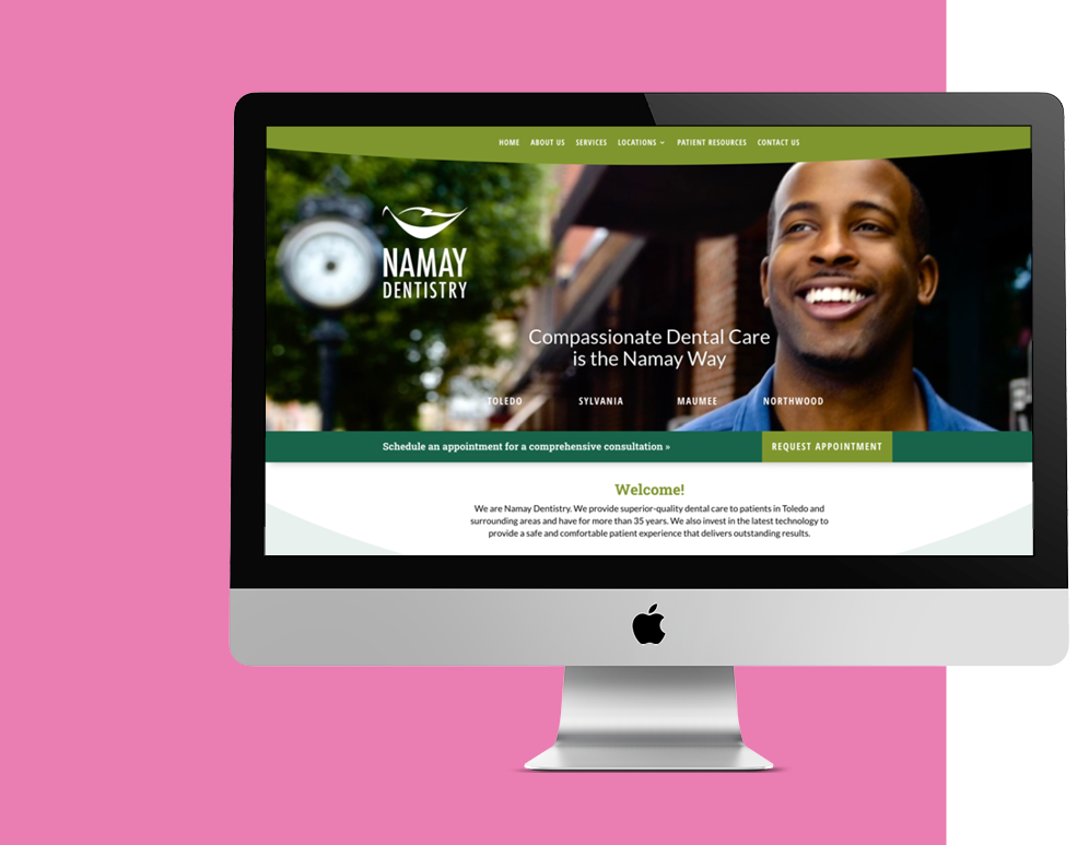 DESIGN Namay Website